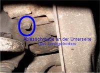 Read more: Ölwechsel an der Servo-Lenkung