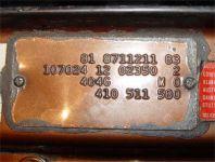 Weiterlesen: Fzg-Codes: Fahrgestellnr., Typenschild & Co