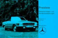 Weiterlesen: Deutsche Preislisten der 107er Modelle