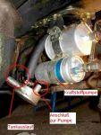 Weiterlesen: Ausbau des Kraftstoffbehälters