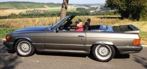 Bernhard und sein 450 SL