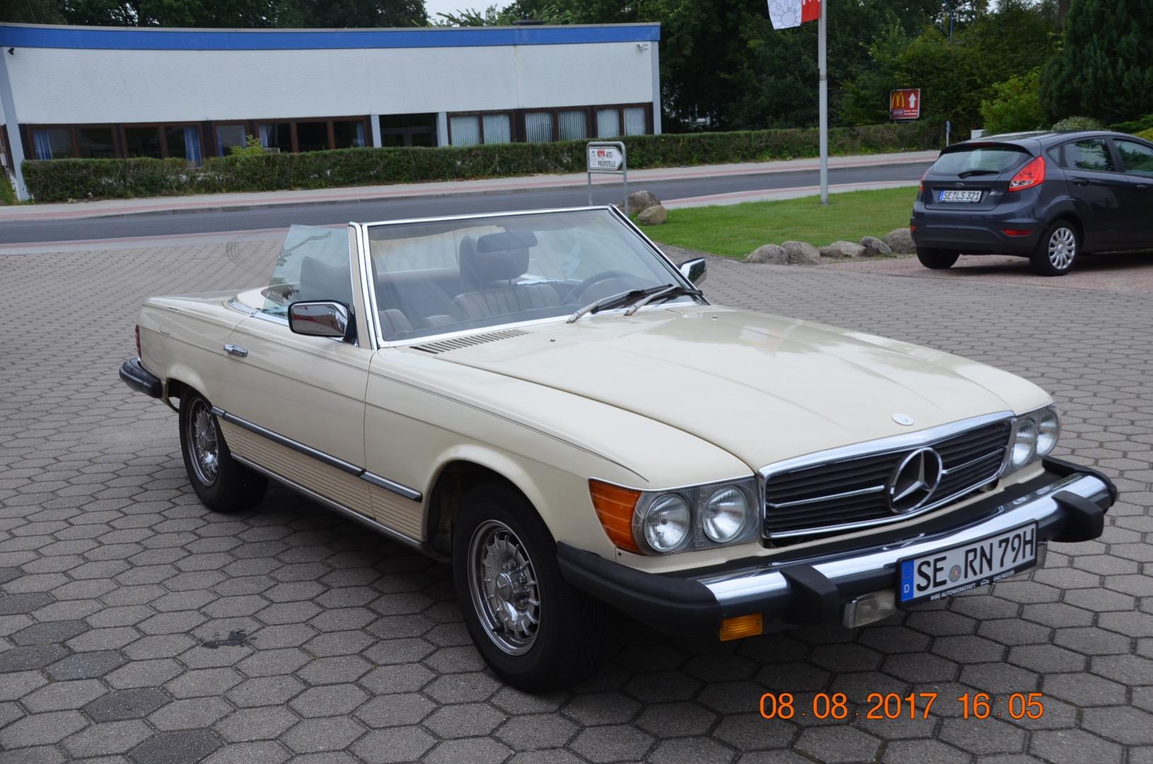 Mercedes SL 450 geht plötzlich aus - Sternzeit-107 on
